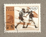 Stamps Poland -  Boxeo Juegos Olímpicos