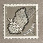 Stamps Hungary -  75 Aniv. Telegrafía en Hingría