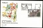 Stamps Spain -  Monasterio de Santa María de Poblet -Tarragona - SPD