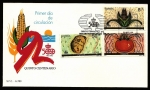 Stamps Spain -  V Centenario del descubrimiento de América  - SPD