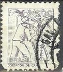 Stamps America - Brazil -  Cortador de caña