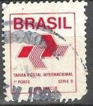 Stamps Brazil -  Tarifa Postal Internacional