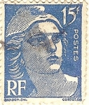 Stamps Europe - France -  RF postes azul