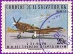 Stamps : America : El_Salvador :  Día del soldado salvadoreño