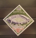 Sellos de Europa - Mónaco -  FUTBOL ASOCIACION, ESTADIO DE WEMBLEY