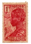 Stamps : Europe : France :  1936-COSTA DE MARFIL