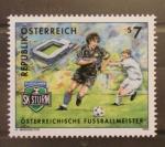 Sellos del Mundo : Europa : Austria : EQUIPOS DE FUTBOL, SK STURM