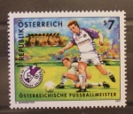 Stamps of the world : Austria :  EQUIPOS DE FUTBOL, WUSTENROT SALZBURG