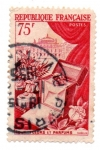 Stamps : Europe : France :  1954-PRODUCTOS DE LUJOS-SERIE-PERFUMES
