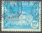 Sellos de America - Costa Rica -  Plan Postal y Social