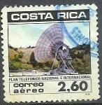 Sellos de America - Costa Rica -  Plan Telefonico Nacional e Internacional
