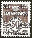 Sellos del Mundo : Europa : Dinamarca : CORONA - LEONES