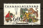 Sellos de Europa - Checoslovaquia -  6ª Biennal de Ilustraciones (Bratislava)