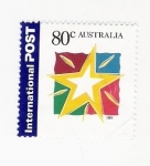 Sellos del Mundo : Oceania : Australia : ESTRELLA (repetido)