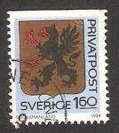 Stamps Sweden -  1260 - escudo de la provincia de Sodermanland