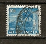 Sellos de Asia - India -  Serie Basica.