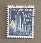 Stamps Czechoslovakia -  Kokorin
