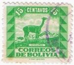 Sellos del Mundo : America : Bolivia : VICUÑA