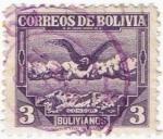Sellos del Mundo : America : Bolivia : CONDOR