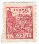 Sellos del Mundo : America : Brasil : CAMPOS TRIGO