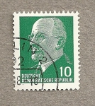 Stamps Germany -  Presidente