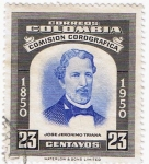 Stamps of the world : Colombia :  JOSE JERONIMO TRIANA