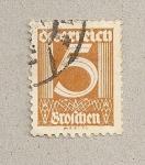 Stamps Austria -  Cifra