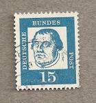 Stamps Germany -  Martín Lutero