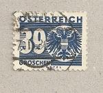 Sellos de Europa - Austria -  Cifra