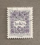 Stamps Czechoslovakia -  Filigrana