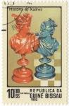 Stamps Guinea Bissau -  Historia do Xadrez