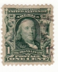 Stamps United States -  Presidente Franklin Ed 1890