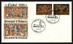 Stamps Andorra -  Navidad 1981 - SPD