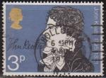 Sellos del Mundo : Europa : Reino_Unido : Gran Bretaña 1971 Scott 651 Sello º Escritor John Keats (1795-1821) Grande Bretagne Great Britain