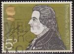 Sellos del Mundo : Europa : Reino_Unido : Gran Bretaña 1971 Scott 652 Sello º Escritor Thomas Gray (1716-71) Grande Bretagne Great Britain