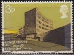 Stamps : Europe : United_Kingdom :  Gran Bretaña 1971 Scott 657 Sello º Edificios Modernos Ciencias Fisicas Universidad Colegio de Wales