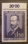 Stamps Austria -  CARL AUER-WELSBACH