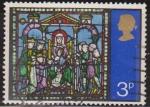 Stamps : Europe : United_Kingdom :  Gran Bretaña 1971 Scott 662 Sello º Navidad Christmas Adoracion Reyes Magos Grande Bretagne Great Br