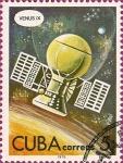 Stamps Cuba -  Dia del Cosmonauta, Venus IX.