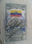 Stamps Colombia -  capitolio