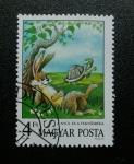 Stamps Hungary -  Cuentos. La Liebre y la tortuga.