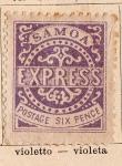 Stamps Oceania - Samoa -  Edicion de 1877