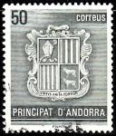 Sellos de Europa - Andorra -  Escudo de Andorra