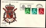 Stamps Spain -  Serie Básica de S.M.  el Rey  1985 -  SPD