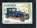 Sellos del Mundo : Europa : España :  2412- AUTOMOVILES ANTIGUOS- ABADAL 1914