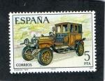 Sellos de Europa - España -  2411-AUTOMOVILES ANTIGUOS-  ELIZALDE 1915
