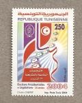 Sellos de Africa - Túnez -  Elecciones Presidenciales