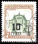 Sellos de America - Uruguay -  Ciudadela Montevideo