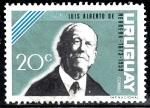 Stamps of the world : Uruguay :  Luis Alberto de Herrera