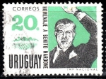 Stamps of the world : Uruguay :  Benito Nardone